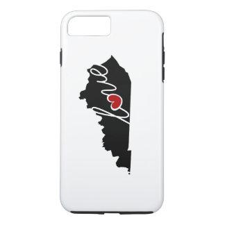 Amor de Kentucky! Presentes para amantes das KY Capa iPhone 8 Plus/7 Plus