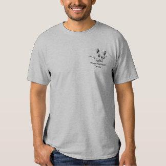 Amor de Westies, desenho preto e branco Camisetas