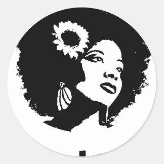 Amor do Afro Adesivo