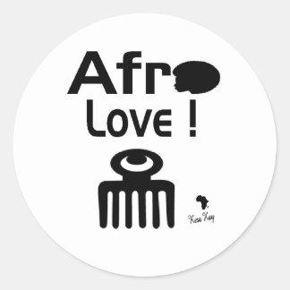 Amor do Afro com DUAFE Adesivo