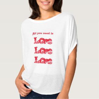Amor do amor do amor camiseta