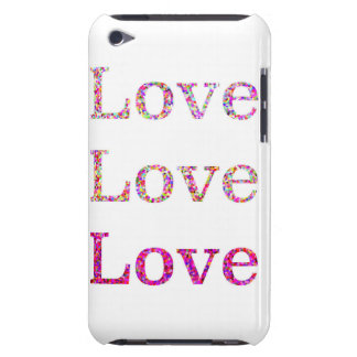 Amor do amor do amor capa para iPod touch