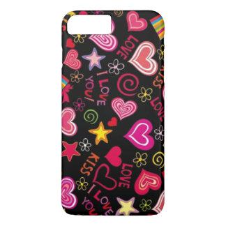 Amor do amor do beijo do beijo capa iPhone 7 plus