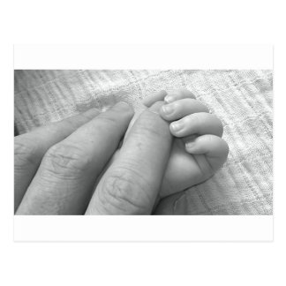 Amor do bebê cartão postal