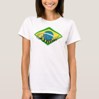 amor do capoeira da samba de Brasil Brasil da Camiseta