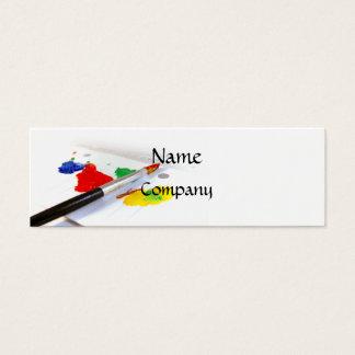 Amor do cartão de visita da pintura (magro)