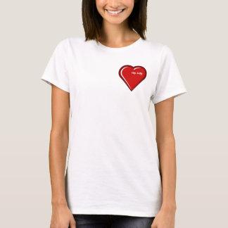 Amor do hip-hop camiseta
