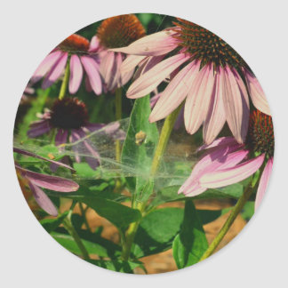 Amor do jardim do vintage adesivo