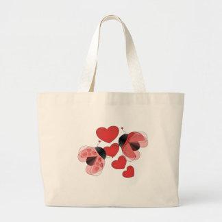 Amor do joaninha bolsa para compras