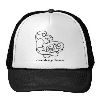 amor do macaco boné