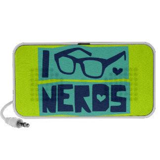 Amor do nerd caixinha de som para iPod