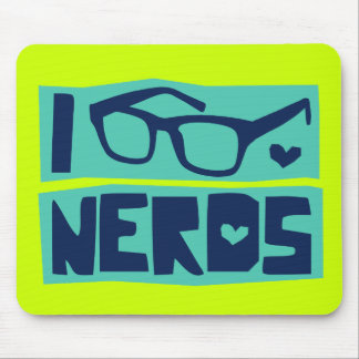 Amor do nerd mouse pads