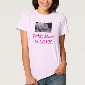 Amor do ursinho camiseta