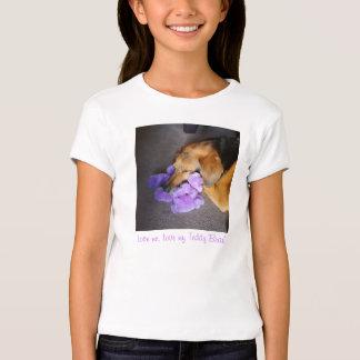 Amor do urso de ursinho tshirts