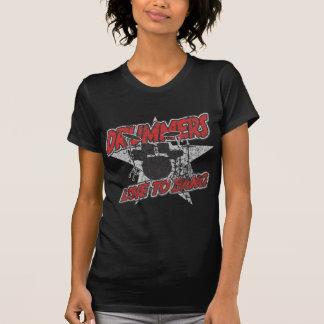 Amor dos bateristas ao golpe t-shirt