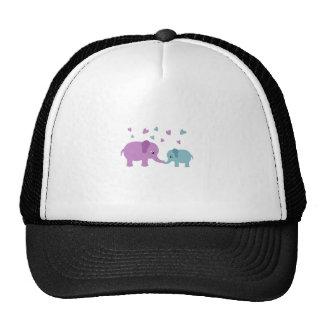 Amor dos elefantes boné