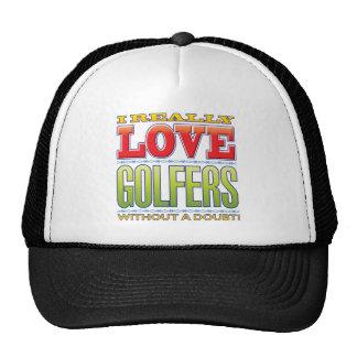 Amor dos jogadores de golfe boné