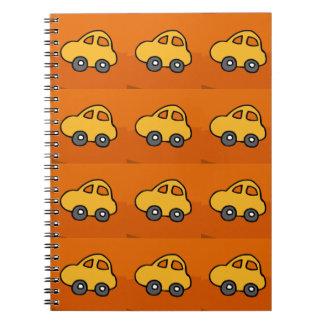 AMOR dos miúdos: Mini mini carros do brinquedo Cadernos Espiral