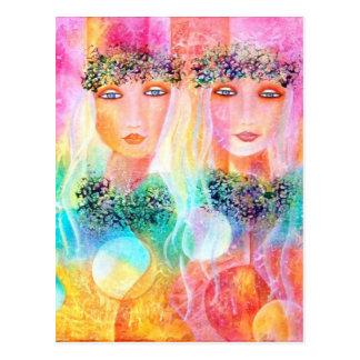 Amor e Aloha cartão