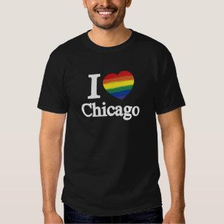AMOR E ORGULHO DE CHICAGO -- .png T-shirts