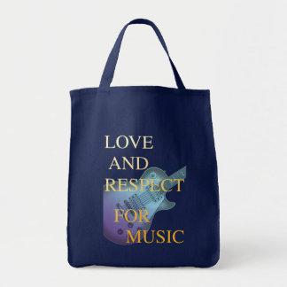 amor e respeito (LC) Sacola Tote De Mercado