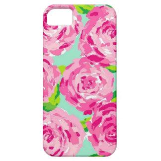 amor floral capa para iPhone 5