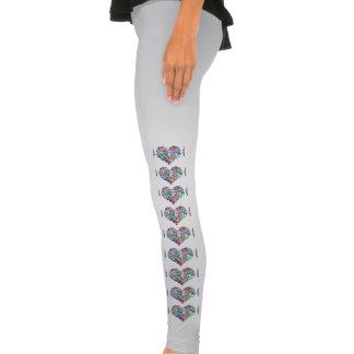 Amor global calças apertadas
