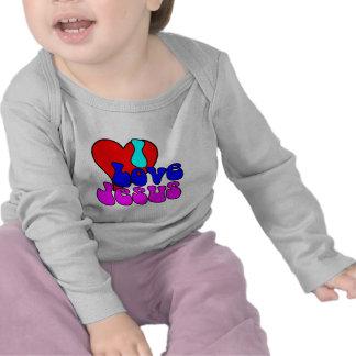 Amor Jesus Camisetas