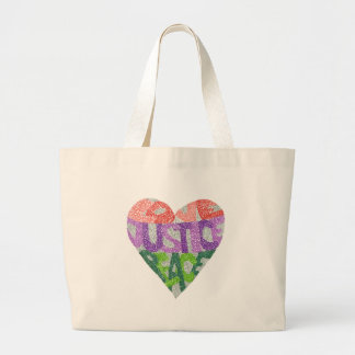 Amor, justiça, paz - o bolsa enorme