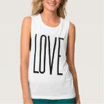 Amor legal - design gráfico minimalista regata muscle flowy