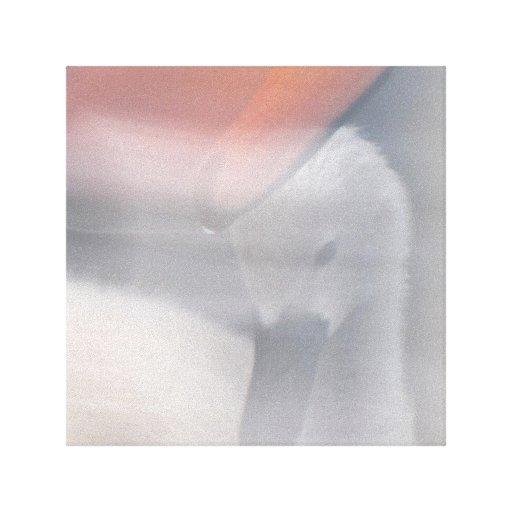 Amor maternal impressão de canvas envolvidas