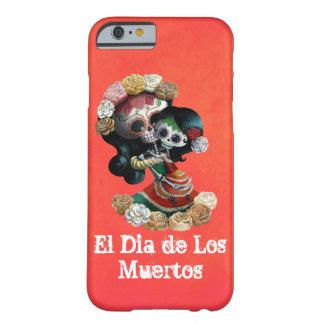 Amor maternal de esqueleto mexicano capa barely there para iPhone 6