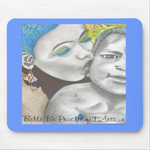 Amor maternal mouse pads