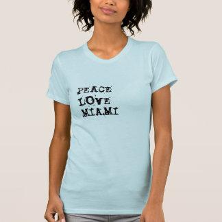 Amor Miami da paz Tshirts