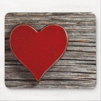 Amor Mousepad do coração