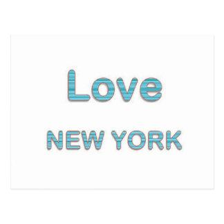 AMOR NewYork New York Cartão Postal