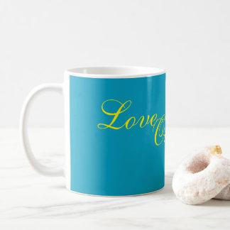 Amor outro um copo de café caneca de café