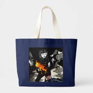 Amor para a sacola do fogo bolsa tote grande