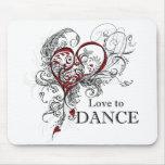 Amor para dançar Mousepad
