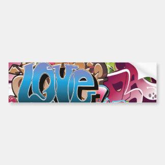 Amor para grafites adesivo para carro