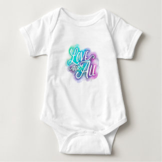 Amor para toda a camisa do bebê