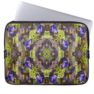 Amor perfeito em uma bandeja… sleeve para laptop