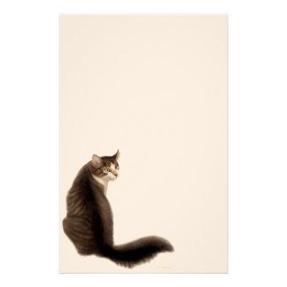 Amor perfeito os artigos de papelaria do gato
