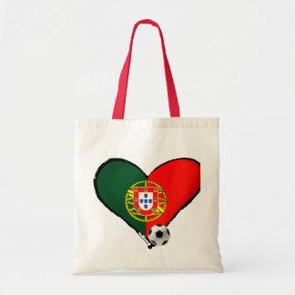 Amor, Portugal e Futebol - quer do vôce dos mais d Sacola Tote Budget