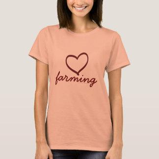 Amor que cultiva, t-shirt para ela camiseta