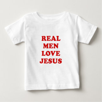 Amor real Jesus dos homens Camiseta