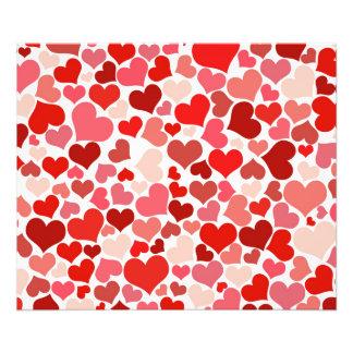 Amor rosa vermelha do dia dos namorados do teste impressão de foto