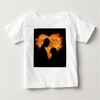 Amor sensual camiseta para bebê