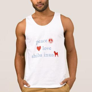 Amor Shiba Inus da paz