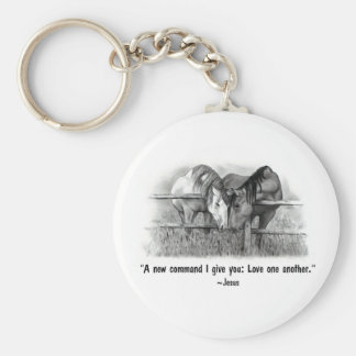 Amor um outro: Jesus: Cavalos Chaveiro